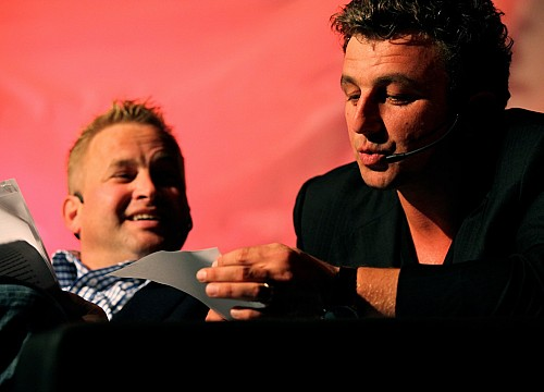Hintze & Sigl Live Satire Talk 2010